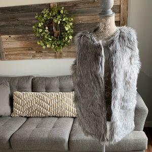 NWT Rachel Zoe Faux Fur Vest